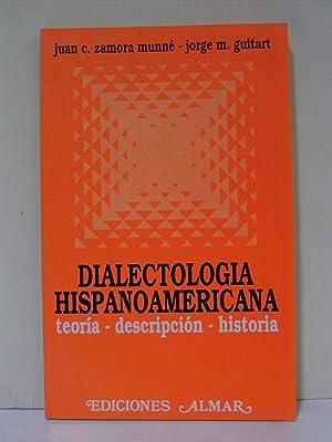 Dialectología Hispanoamericana: Zamora Munné, Juan