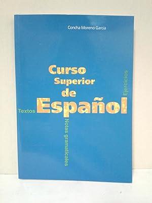 Curso Superior De Español: Moreno García, Concha