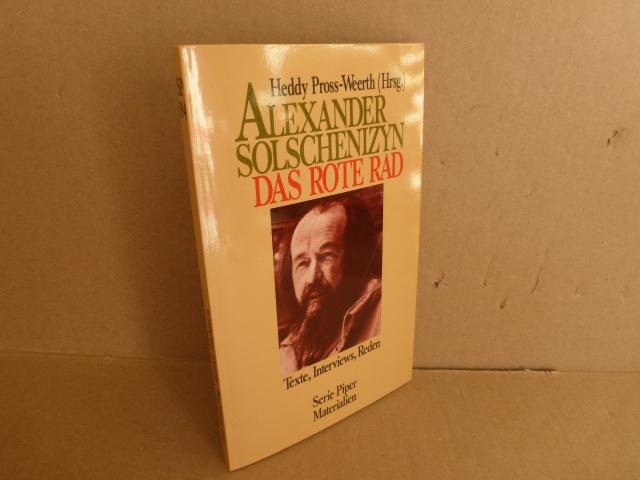 Alexander Solschenizyn: Das rote Rad : Texte, Interviews, Reden. (= sp 594)