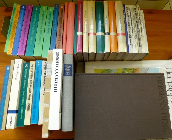 Konvolut 38 Bücher Hermann Hesse: 1. Peter: Hesse, Hermann: