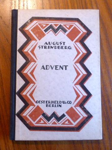 Advent. Ein Mysterium. (= Bühnenwerke in neuer: Strindberg, August: