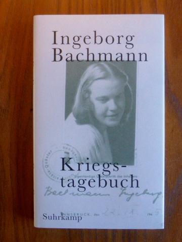 Kriegstagebuch. Mit Briefen von Jack Hamush an Ingeborg Bachmann. - Höller, Hans [Hrsg.]