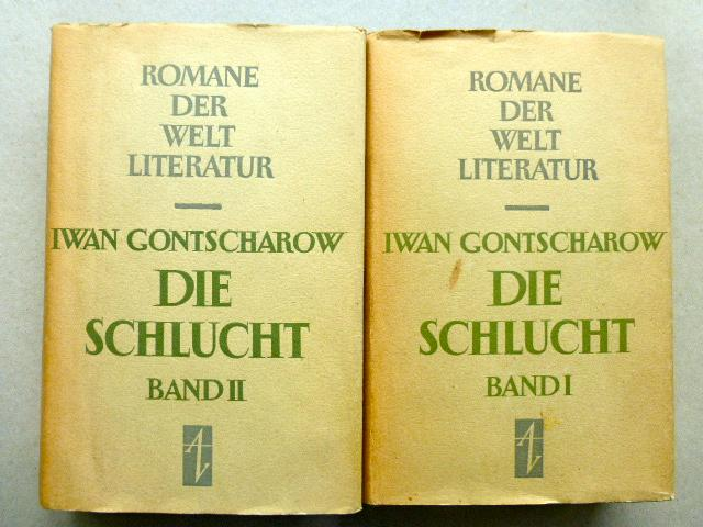 Die Schlucht. 2 Bände (komplett). Aus dem: Gontscharow, Iwan: