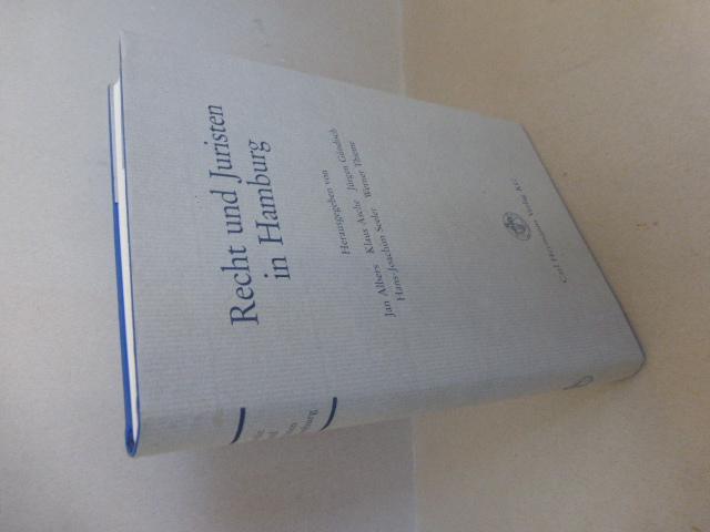 Recht und Juristen in Hamburg.: Albers, Jan ;