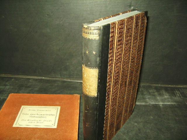 Lieder eines kosmopolitischen Nachtwächters. Neudruck der Original-Ausgabe: Dingelstedt, Franz.