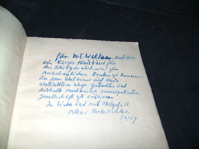 A petition from a foreign artist to: Kokoschka, Oskar.
