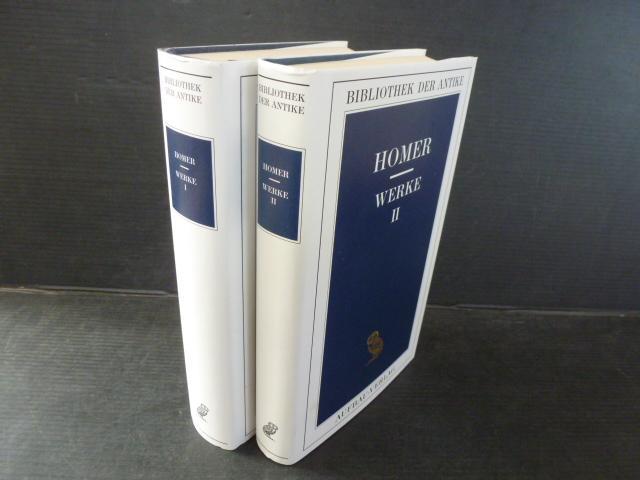 Homer. Werke. Zwei Bände. (= Bibliothek der Antike; Griechische Reihe): Homerus: