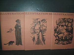 Jahrgang 1991 in drei Heften. Illustration 63.: Buchillustration.-; Visel, Curt.