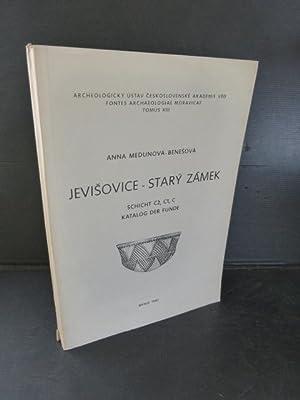 Jevisovice - Stary Zamek. Schicht C2, C1,: Medunova-Benesova, Anna.