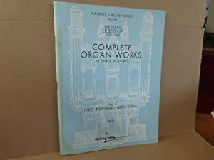 Complete Organ Works in three volumes. Vol. I. (= Kalmus organ seies, 4154)