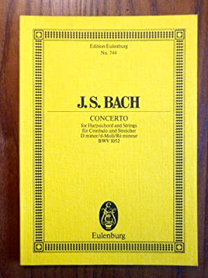 J. S. Bach: Concerto for Harpsichords and Strings/ für Cembalo und Streicher, D minor/d-Moll/Re M...