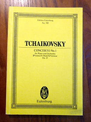 Tschaikovsky. Op. 23. Conercto No. 1 for Piano and Orchestra. B minor - Si mineur - B moll for Pi...