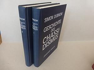 Geschichte des Chassidismus in zwei Bänden. Aus: Dubnow, Simon: