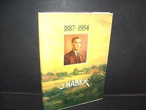 Kunstboek J. Habex (1887-1954).: Geusens, August.