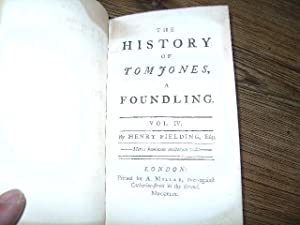 Tom Jones. The History of a Foundling.: Fielding, Henry.