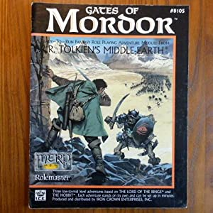 Gates of Mordor (Middle Earth Game Supplements, Stock No. 8105).