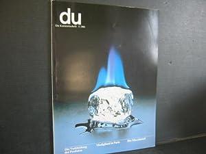 Du - Die Kunstzeitschrift. Nr. 483. 5/1981.: Du - Zeitschrift