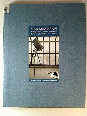 Max Missmann - Photograph für Architektur, Industrie,