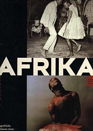 Porträt Afrika. - Fotografische Positionen eines Jahrhunderts.: Michael Thoss /