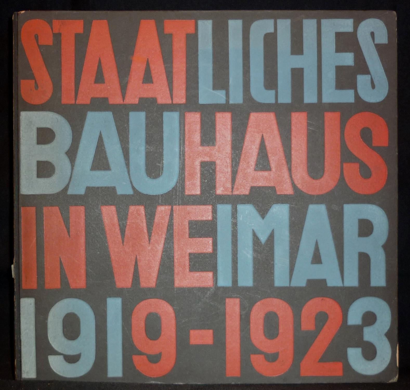 Staatliches bauhaus weimar 1919 1923 zvab for Staatliches bauhaus