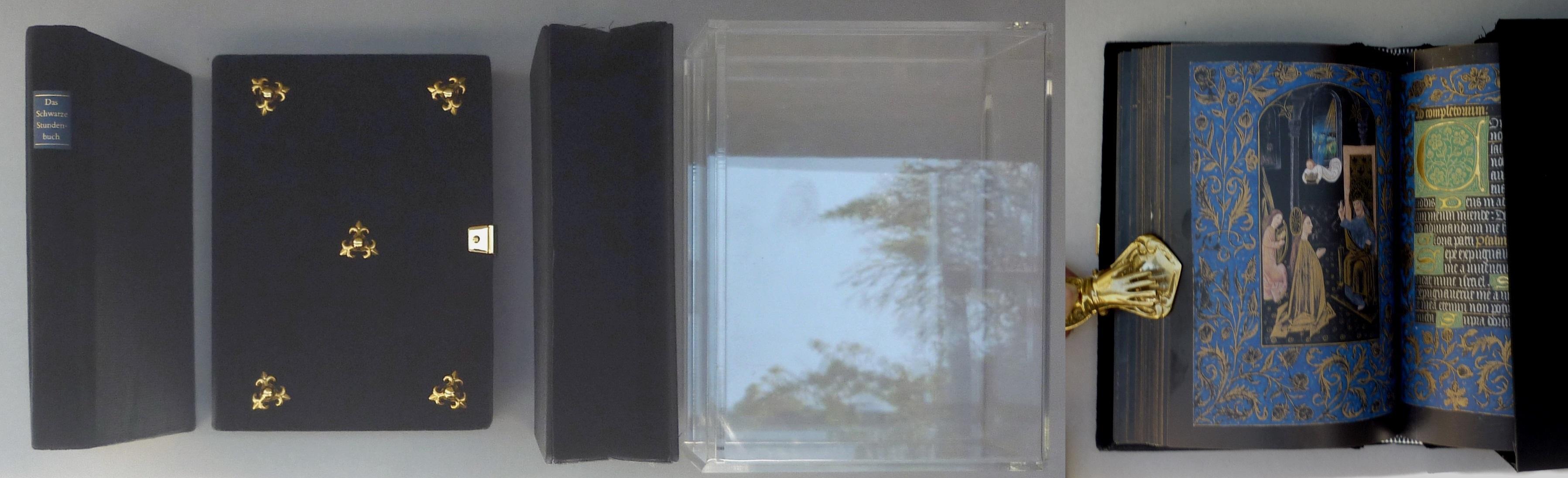 Das Schwarze Stundenbuch MS. M. 493; Pierpont: Faksimile -