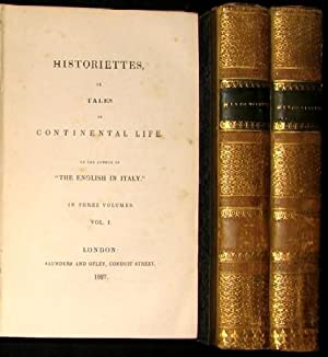 Historiettes, or Tales of continetal life. By the author of