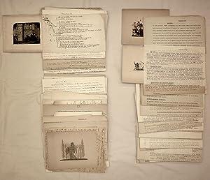 71 Originalzeichnungen zu / 71 dessins originaux: Französische Literatur -