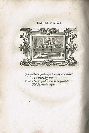 Icones, id est verae imagines virorum doctrina simul et pietate illustrium, Quorum praecipue ...