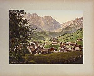 Album mit 26 Photochromes P.Z. und 4: Fotografie. Bern -
