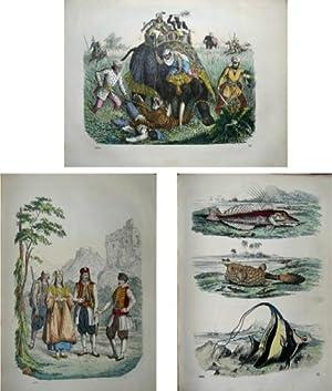 Buch der Welt 1860. Ein Inbegriff des Wissenswürdigsten und Unterhaltendsten aus den Gebieten ...