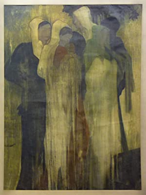 Group of Woman. Mischtechnik auf Papier.: David, Thomas Alfred.