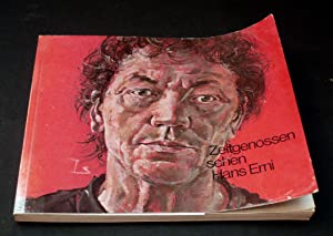 Zeitgenossen sehen Hans Erni. Mit teils farb. Abb.: Erni, Hans - Mit Original-Zeichnung - Boesiger,...