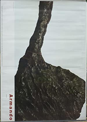 Armando Skulpturen. Ausstellungsplakat. Farb-Offset.: Armando, (eigentlich Herman
