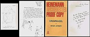 10zeiliger Brief mit halbseitiger Illustration von Peter: Englische Literatur. Autographen