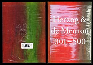 Herzog & de Meuron 001-500. Index of the Work of Herzog & de Meuron 1978-2019. Text by Michael Ke...