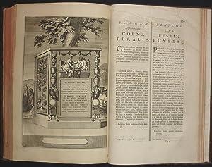 Antiquitates sacrae & civiles romanorum explicatae, sive, commentarii historici, mythologici, ...