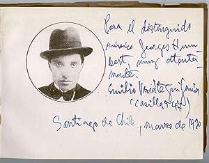 Musicos chilenos contemporáneos. (Datos biográficos e impresiones sobre sus obras).: ...