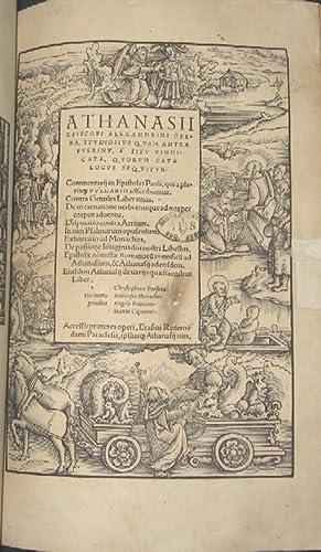 Opera. Hrsg. von Erasmus von Roterdam. [Mitgebunden:]: Alte Drucke -