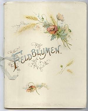 Feldblumen. Originalgedichte von M.F. Illustrierte von M.L.