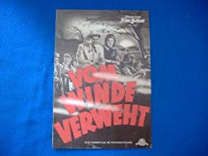 """Illustrierte Film-Bühne Nr. 1837 """"Vom Winde Verweht"""": Fleming Victor (Regie)"""