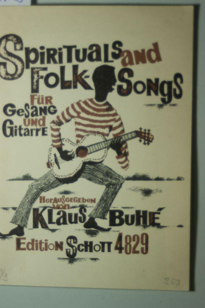 Spirituals and Folk Songs Für Gesang und: HG, Buhe Klaus: