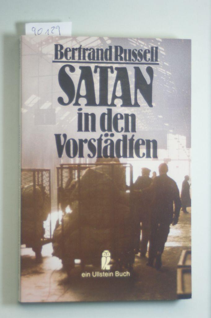 Satan in den Vorstädten. Erzählungen.: Russell, Bertrand: