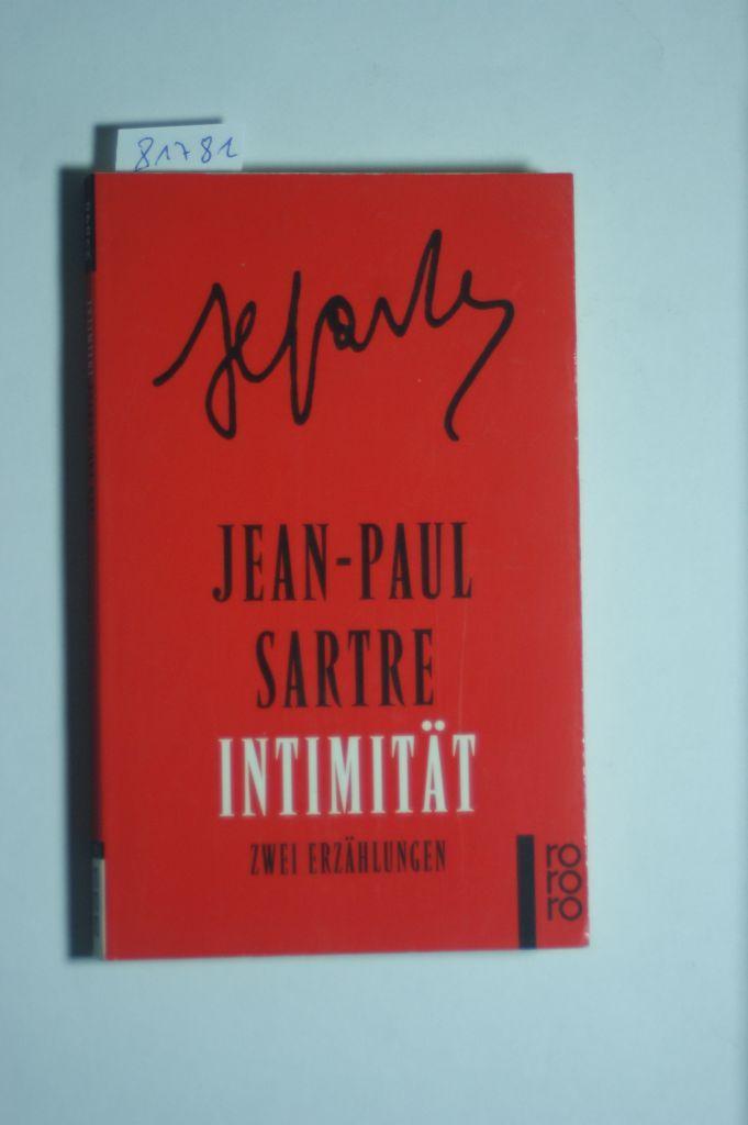 Intimität: Jean, Paul Sartre: