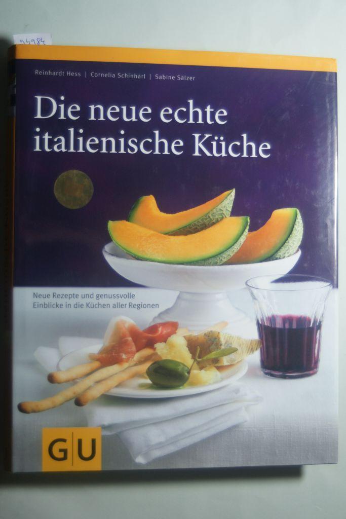 Die Echte Italienische Küche   Die Echte Italienische Kueche Von Reinhardt Hess Erstausgabe Zvab