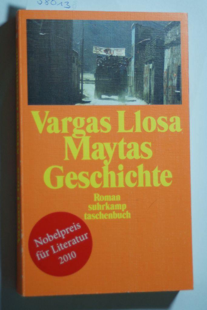 Maytas Geschichte: Roman (suhrkamp taschenbuch): Vargas, Llosa Mario: