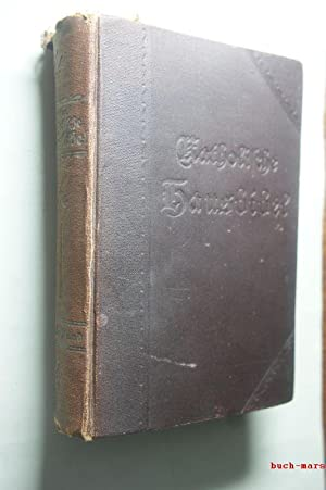 Katholische Hausbibel. Handausgabe. erster Band: Altes Testament: Ecker, Jakob: