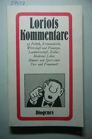Loriots Kommentare zu Politik, Kriminalistik, Wirtschaft und: Loriot und Vicco