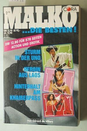 Malko .Die Besten! 2/95 Sturm in der: Gerard, de Villiers: