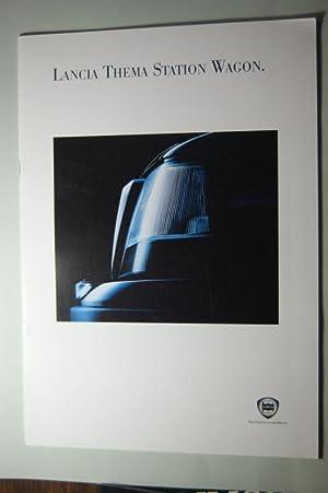 Prospekt Lancia Thema Station Wagon: Lancia: