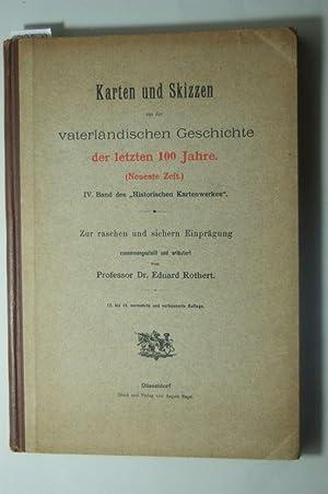 Karten und Skizzen aus der vaterländischen Geschichte: Rothert, Eduard:
